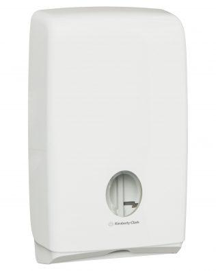 Aquarius™  Compact  Hand Towel Dispenser 70240 – White