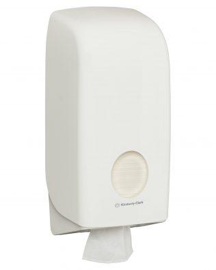 Aquarius™ Folded Toilet Tissue Dispenser 69460 – White