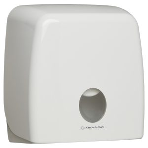 Aquarius™ Jumbo Roll Toilet Tissue Dispenser 70260 – White
