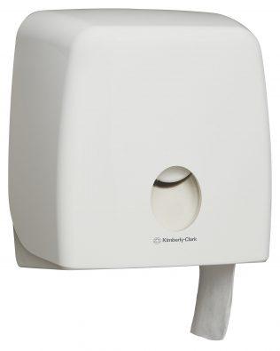 Aquarius™ Jumbo Roll Toilet Tissue Dispenser 70260 – White