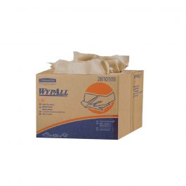 WypAll® L30 Wipers, Brag™ Box, 28101 – Brown, (1 Box x 450 Sheets) & 3 ply