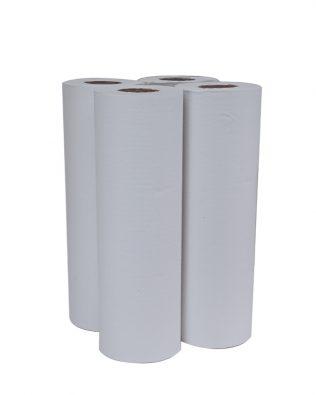 Scott® Clinical Roll 20251 - White, (4 rolls x 150m) & 1 ply