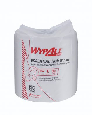 Wypall® Essential Task Roll Control 29999 - white, 1 ply, 1 roll x 300m, (1 roll, 1000 sheets)