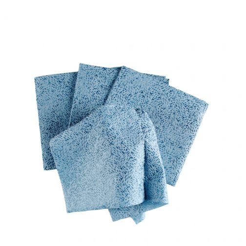 Kimtech Prep™ Kimtex* Wipers 1/4 fold, 33560 - Blue, (1 Pack x 66 sheets) & 1 ply