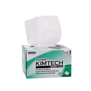 Kimtech Science™ Wipers 34155 - White, (1 box x 280 sheets) & 1 ply