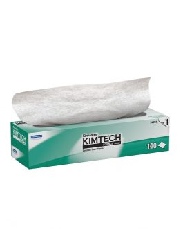 Kimtech Science™ Wipers 34256 - White, (1 box x 140 sheets) & 1 ply