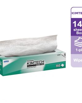 Kimtech Science™ Wipers 34256 – White, (1 box x 140 sheets) & 1 ply