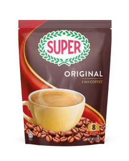 SUPER Original 3in1 Instant Coffee 20G X 8 sachets – 1674777