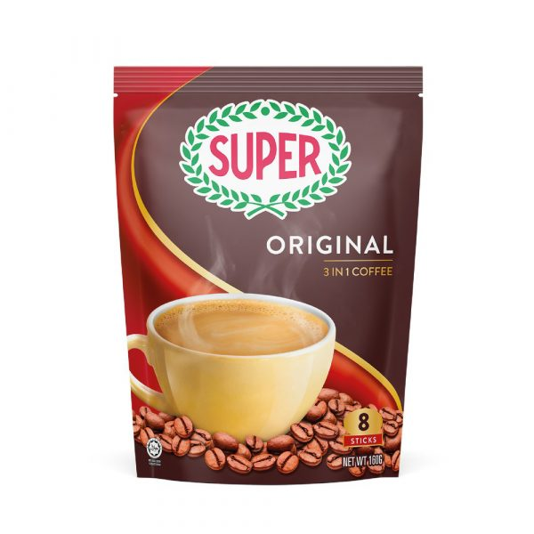 SUPER Original 3in1 Instant Coffee - 8 sachets
