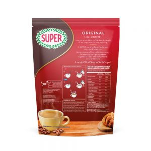 SUPER Original 3in1 Instant Coffee – 8 sachets