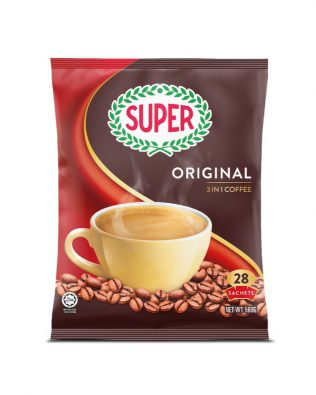SUPER Original 3in1 Instant Coffee - 28 sachets
