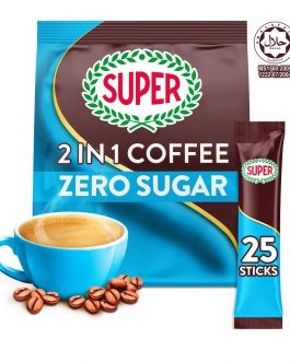 SUPER Original Zero Sugar Added 2in1 Instant Coffee 12G X 25 sachets – 1675213