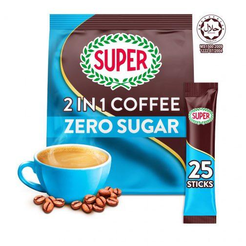 SUPER Original Zero Sugar Added 2in1 Instant Coffee - 25 sachets