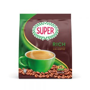 SUPER Rich 3in1 Instant Coffee – 25 sachets