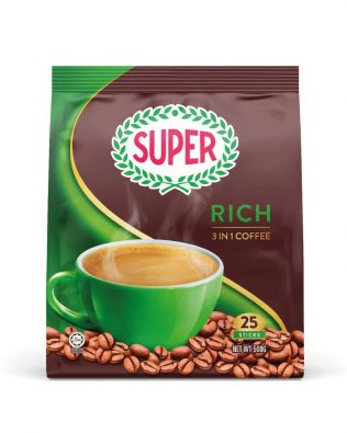 SUPER Rich 3in1 Instant Coffee 20G X 25 sachets – 1674473