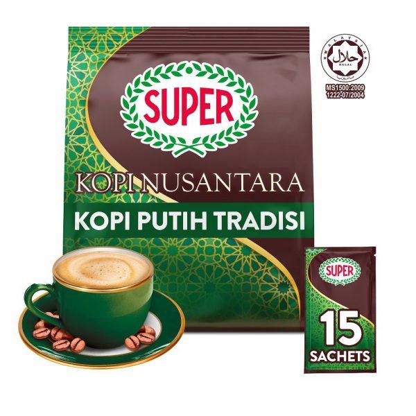 SUPER White Coffee 3in1 Nusantara - 15 sachets