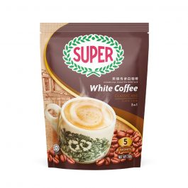 SUPER Charcoal Roasted Heritage White Coffee Classic 3 In 1 40G X 5 sachets (Small) – 1674787