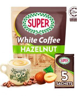 SUPER Charcoal Roasted Heritage White Coffee Hazelnut – 5 sachets (Small)