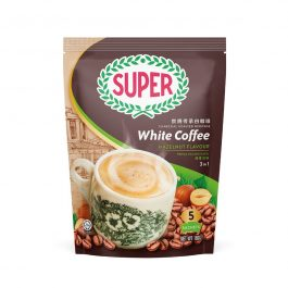 SUPER Charcoal Roasted Heritage 3 In 1 White Coffee Hazelnut 36G X 5 sachets (Small) – 1674792