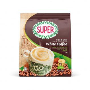 SUPER Charcoal Roasted Heritage White Coffee Hazelnut - 15sachets