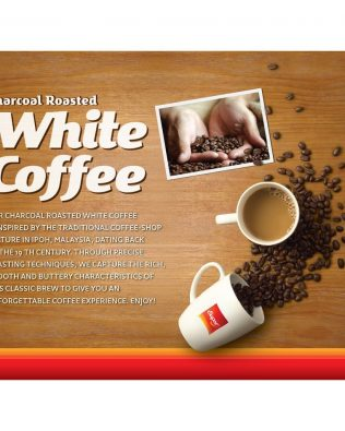 SUPER Charcoal Roasted Heritage White Coffee Classic 3in1 40G Ready-to-go Cup – 1674978