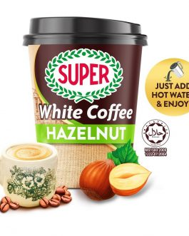 SUPER Charcoal Roasted Heritage White Coffee Hazelnut Ready-to-go Cup