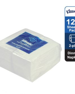 Kleenex® Dinner Napkin 78401 – White, (1 pack x 125 sheets) & 2 ply