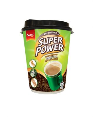 SUPER POWER 6in1 Coffee with Tongkat Ali, Ginseng and Misai Kucing Ready-to-go Cup