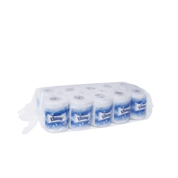 Kleenex® Standard Roll Toilet Tissue 50910 - White, (10 roll x 220 sheets) & 2 ply (2200 sheets)