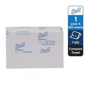 SCOTT® Compact Towel Value – 1 pack