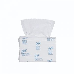 Scott® Hand Towel - Multifold, 38002 - White, (1 pack x 250 sheets) & 1 ply