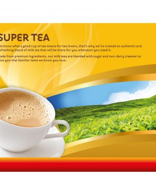 Super 3 In 1 Instan Milk Tea Teh Halia 25G X 12 Sachets -1675039
