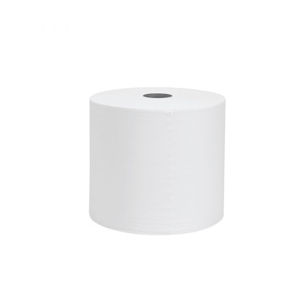 WypAll® X60 Wipers, Jumbo Roll, 93495 - White, (1 Roll x 900 sheets) & 1 ply