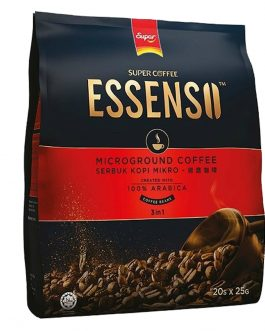 Essenso Microground Coffee 3 in 1 Coffee Beans 25G X 20 Sachets – 1674124