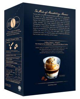 Essenso Microground Mandheling Blend Instant Black Coffee 20 Sticks x 2g (40g) – 1674727