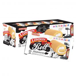 Mamee London Roll Milk Flavour Cake 24 Paket/ Piece – 6006