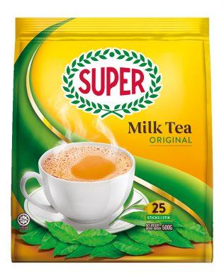 Super 3 in 1 Instant Milk Tea Original 20G X 25 sachets – 1675029