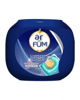 ar FÜM Laundry Capsules anti-bacterial 12g*42pcs