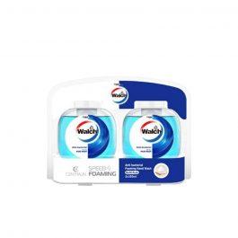 Walch 350ml Antibacterial Foaming Hand Wash Refill Pack -Refreshing (350ml*2 bottles)