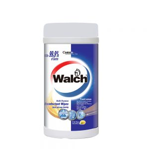 Walch Multi-Purpose Disinfectant Wipes Fresh Lemon 75pcs