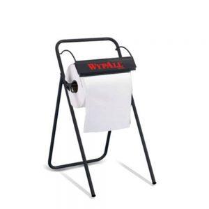 WypAll® Floor Stand Large Roll Wiper Dispenser 88731 – Black 1 x 1 unit