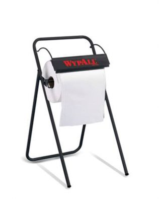WypAll® Floor Stand Large Roll Wiper Dispenser 88731 – Black 1 x 1 unit