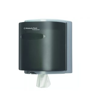 Kimberly-Clark Professional® Roll Control™ Wiper Dispenser 09989 – Smoke, Case of 1 Dispenser