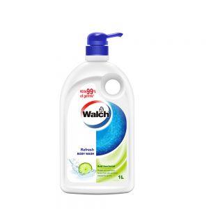 Walch Anti-bacterial Body Wash(Refresh)1L