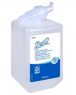 12560 Kleenex® Antibacterial Luxury Foam Instant Hand Sanitiser, One 1000ml Cartridge