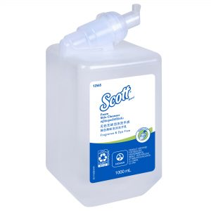 Scott® Foam Skin Cleanser Fragrance & Dye Free 12565 – Clear, Unscented, 1×1 Ltr (total 1 Ltr)