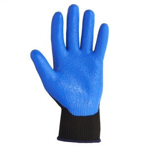 KleenGuard™ G40 Foam Coated Hand Specific Gloves 40226  – Black,  M/8,  1×12 pairs (24 gloves)