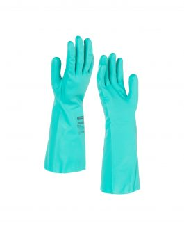 KleenGuard™ G80 Chemical Resistant Hand Specific Gloves 94446  – Green,  M/8,  1×12 pairs (24 gloves)