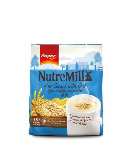 SUPER NUTREMILL 4in1 Cereal with Oat (35g x 15's)