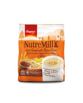 SUPER NUTREMILL 4in1 Cereal with Brown Rice (30g x 15's)